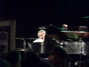 Allen Toussaint and piano