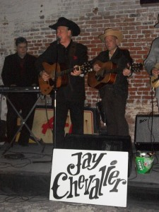 Armand St. Martin performing with Jay Chevalier and Michael Hartt at the 2011 Ponderosa Stomp.