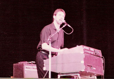 St. Martin on tour with Micheal Smotherman, Saratoga, NY, 1982.